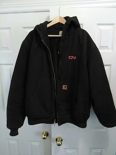 Carhartt quilted jacket (with CN logo)