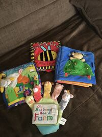 Baby books $5 each  $15 for all 4 Burnaby, V3N 2Y3