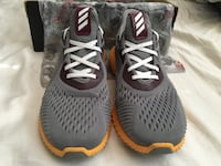 pair of gray-and-black Nike basketball shoes Tempe, 85282