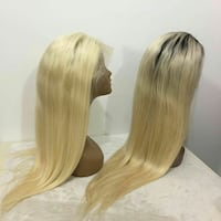 two blonde hair wigs Silver Spring