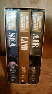 Reader Digest / World War II VHS set Kent, 44240