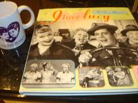 I Love Lucy Book and Mug Putnam Valley