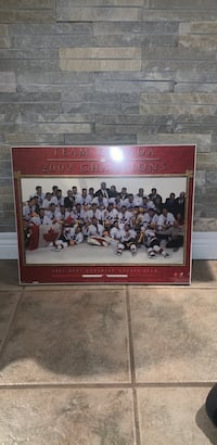Team Canada Gold Medal Picture Vaughan