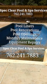 Pool Services( Liners, Maintenance, Pool Installs) Stone Mountain