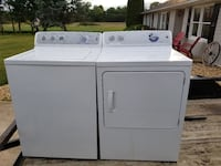 white washer and dryer set Ranson