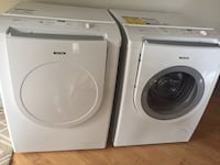 Washer and dryer Bosch, great condition ! Laval, H7P 5Z5