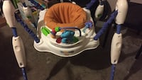 baby's blue and white jumperoo Tillsonburg, N4G 5N9