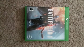 Xbox One Battlefield One video game