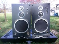 two black and gray speakers Knoxville