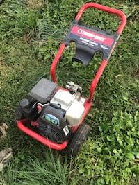 red and black Troy-Bilt lawn pressure washer Hagerstown, 21740