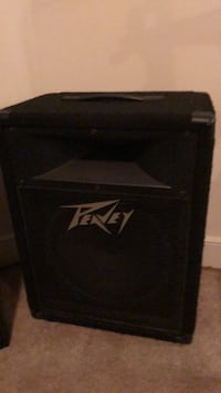 black and gray Peavey guitar amplifier Silver Spring, 20910