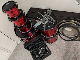 6 Piece ddrum Diablo Shell Pack (Livonia)