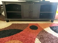 brown wooden TV stand Palm Bay, 32909