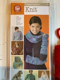 Knitting yarn and starter kit Saint Paul, 55104