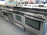 Stainless-steel electric stoves in great condition Randallstown
