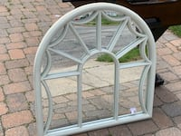 White wooden framed mirror  Bethpage, 11714