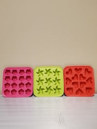 NEW!! SILICONE MOLDS (3) - price for all 3 together is $10 (firm). Arlington, 22204