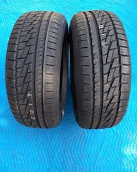 Brand new pair of tires, 235/55/R18