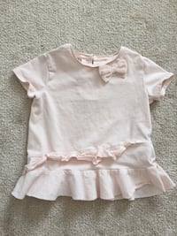 Zara baby / toddler girl light pink peplum shirt - size 12-18m Halton Hills, L7G 0B4