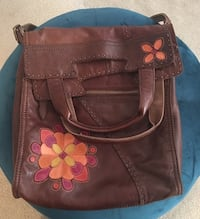 Lucky brand leather bag Jefferson, 30549
