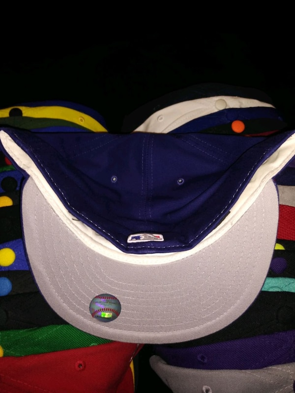 5ce3739677e224 Used Los Angeles Dodgers New Era Fitted Cap 7 1/2 for sale in Dallas ...
