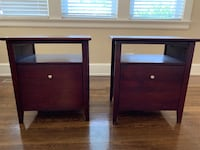 Two cherry end tables Norfolk, 23517