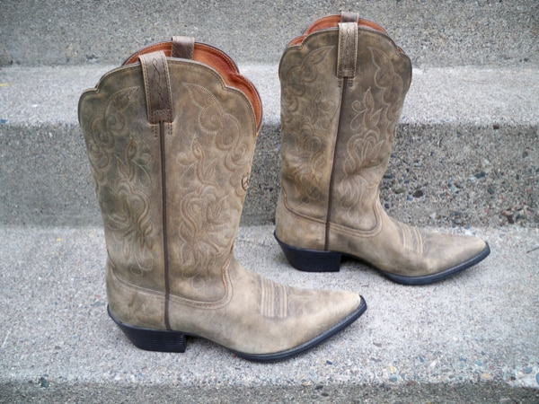 2224f4628bb Ariat #15729 Women's Leather Heritage Western R Toe West Boots Size 9.5