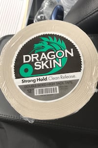 """Dragon Skin, White Double-Sided  Tape, 2"""" X 36 Yards, 12 MIL, (1) Roll Beltsville, 20705"""
