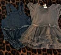 Girls size 12 months Tulare, 93274