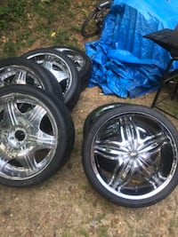 24's inch Rims and tires for $450 Fort Washington