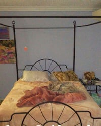 Canopy bed frame with box spring Alexandria, 22304