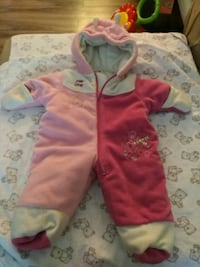 Winter jacket for 6 to 12 months