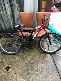 Big bike in good condition