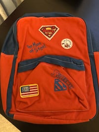 SUPERMAN BACKPACK SCHOOL BAG NEW! Toronto, M1S 2B2