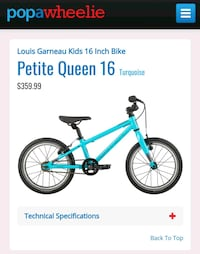 New Garneau kids bike Mississauga, L5M 3Y2