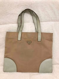 Authentic Prada Brown and White Tote bag Washington, 20009
