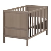 Crib brand new. Needs a mattress IKEA Toronto, M9C 1A3