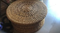 Round wicker table Windermere, 34786