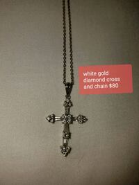 silver-colored cross pendant necklace Chesapeake, 23323
