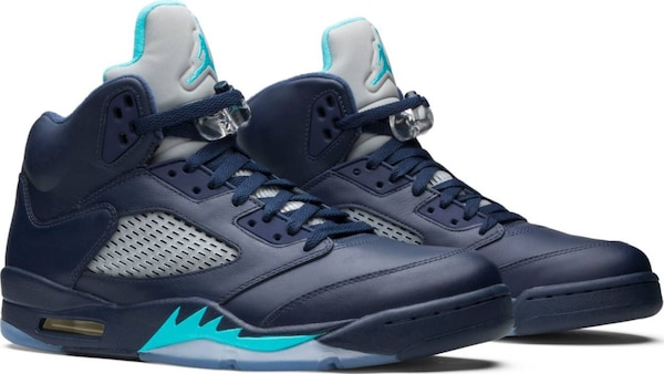 sale retailer c747b 1cdd8 Men's Nike Air Jordan 5 Retro, Size 10 US, Pre-Grape, Midnight Navy