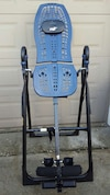 blue teeter hang up inversion table