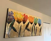 """Large wall painting or wall art 60"""" by 30""""  Gaithersburg, 20878"""