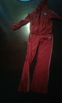 red and white track pants Kitchener, N2N 3M1