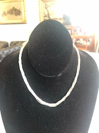 15 1/2 inches sterling silver 20 strand necklace Toronto, M2R 3N1