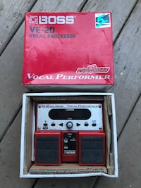 Boss VE-20 Vocal Pedal and Looper Athens, 30601