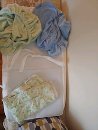 Baby changing pad with cover sheets Toronto, M2J 2C2