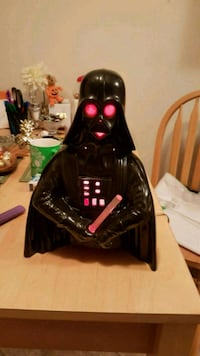 Handmade Darth Vader lamp Winnipeg, R2H 0P7