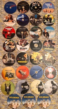 31 Swedish Movie/TV Show DVDs - Comedy, Action, Drama and More!