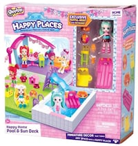 Shopkins happy places play set Newcastle Upon Tyne, NE2