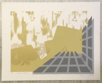 Signed Original Serigraph print: Golden Rain Dragon   Bryans Road, 20616